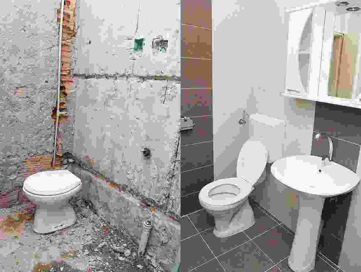 Total bathroom remodel