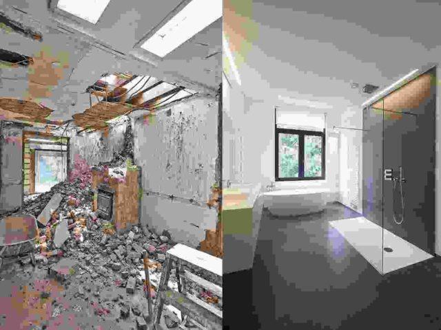 Home interior renovation project