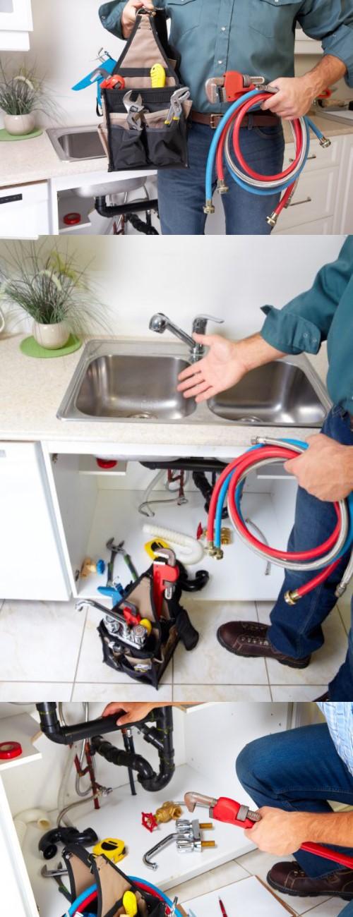 Plumbing reparing