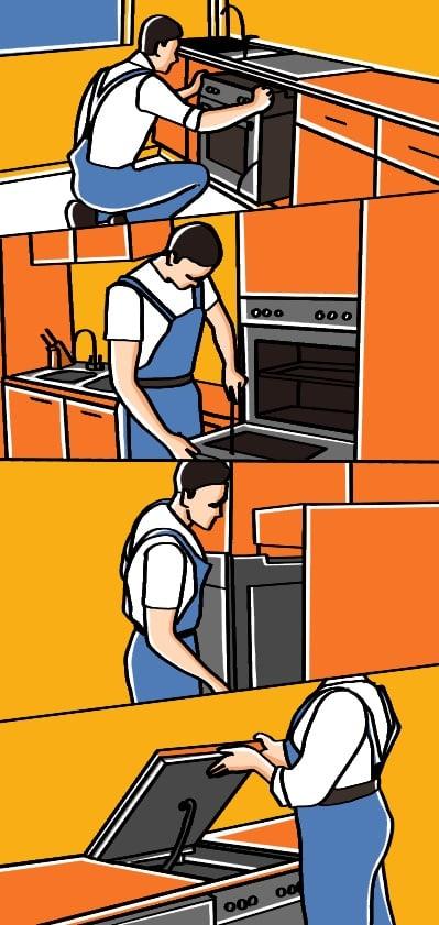 Electrical cooker installation 1 JPG